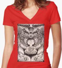 Meltdown Women's Fitted V-Neck T-Shirt