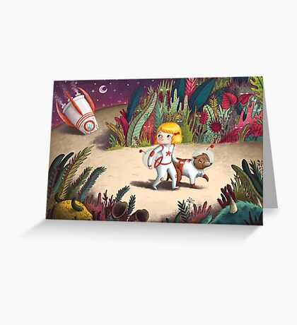 Astronaut astray Greeting Card