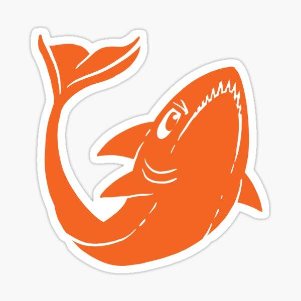 Simple Shark Sticker