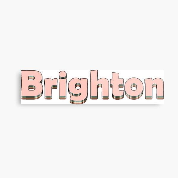Brighton! Metal Print