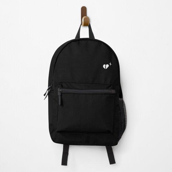 Lil Peep Broken Heart & Star Backpack