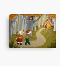 Hansel and Gretel Canvas Print