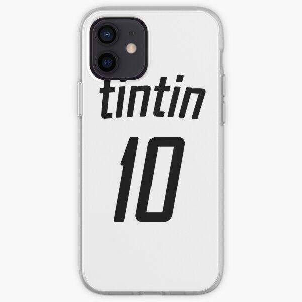 T-shirt de foot tintin Coque souple iPhone