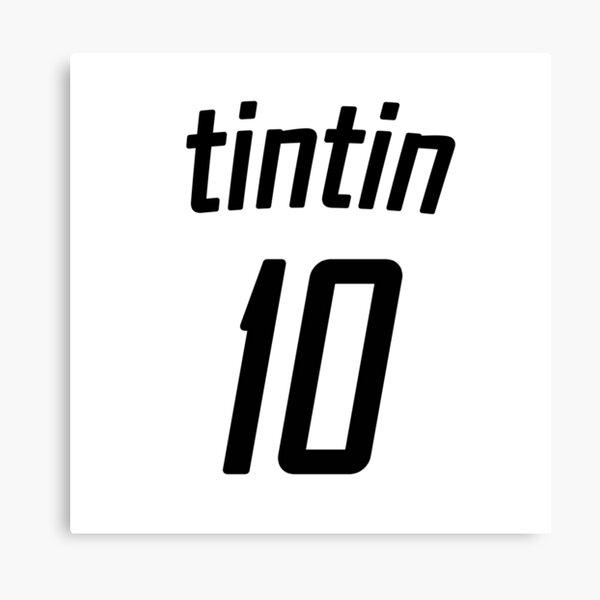 T-shirt de foot tintin Impression sur toile
