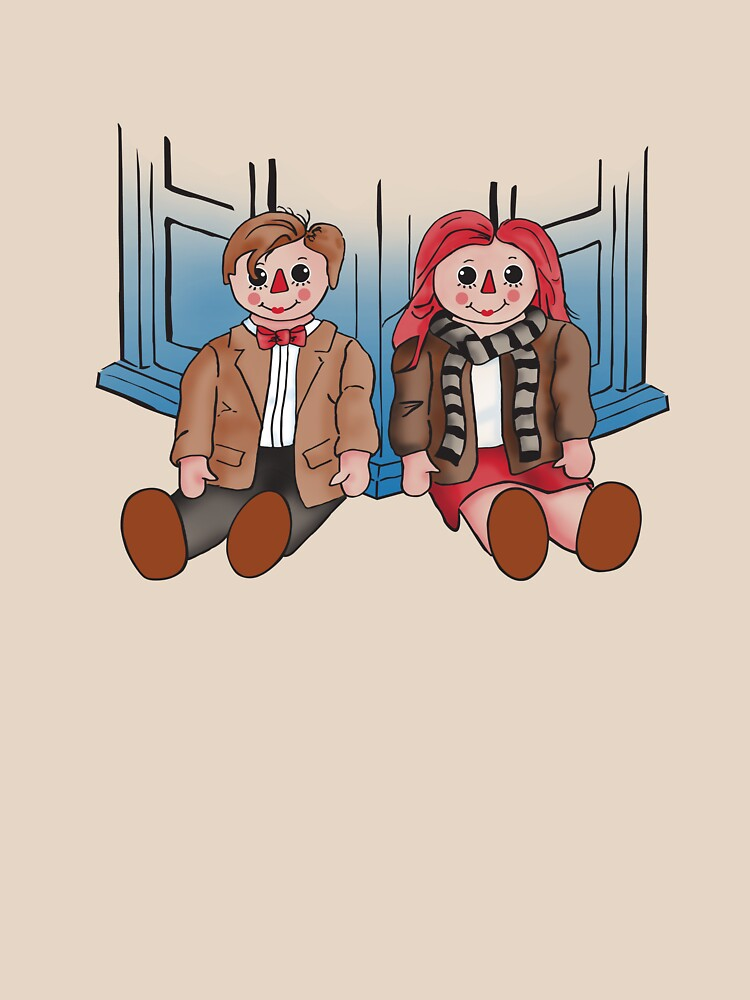 Raggedy Man and Amy by gcrows
