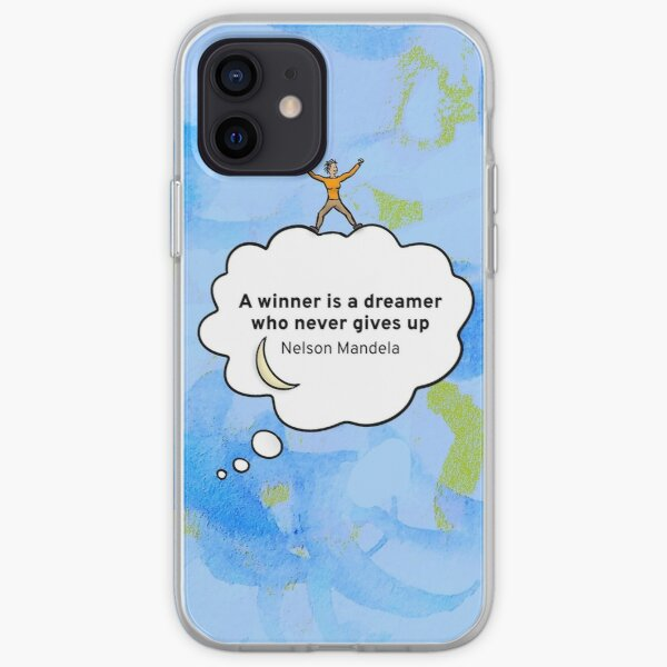 A winner is a dreamer who never gives up - EN iPhone Soft Case