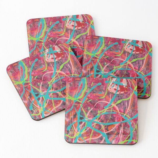 The Same but Different: Falling Slowly (L) Coasters (Set of 4)