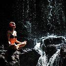 Whole Universe. Anna at Eureka Waterfalls, Mauritius by JennyRainbow