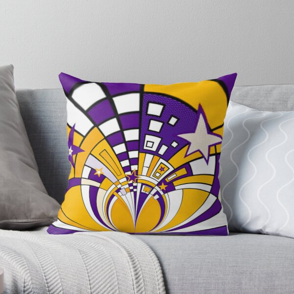 Town Star Throw Pillow