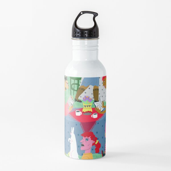 Spring reading club Water Bottle