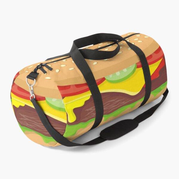 Cheeseburger Duffle Bag
