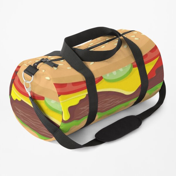 Cheeseburger Duffle Bag