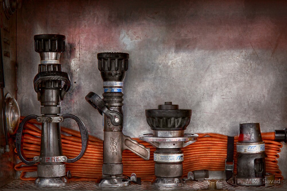Firefighting - One for everyone by Michael Savad
