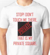 Private square 1 Unisex T-Shirt