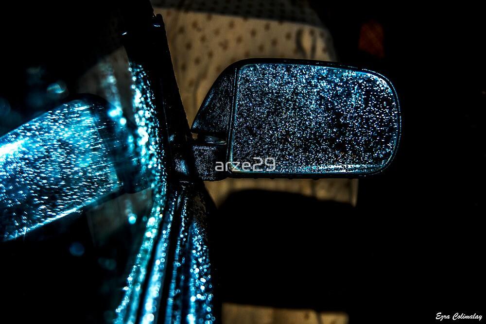 Rainy weather by arze29