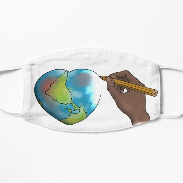 Redessinons le monde Masque sans plis