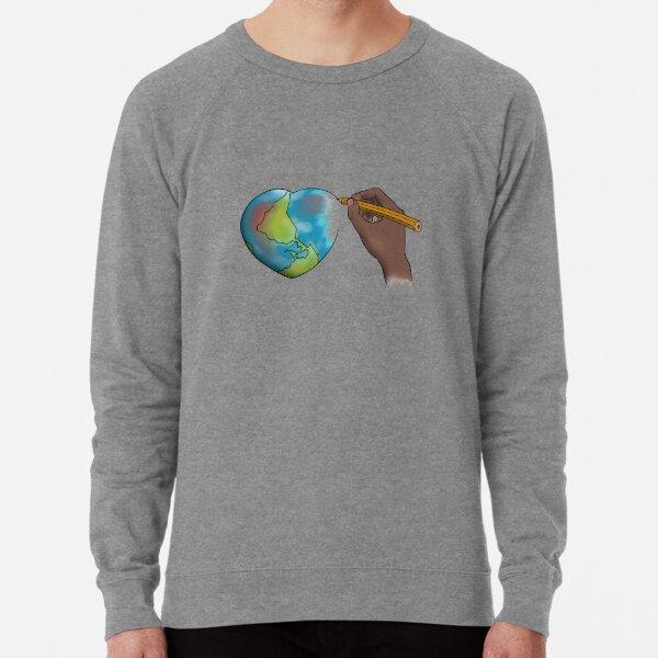 Let's Redraw the World Lightweight Sweatshirt