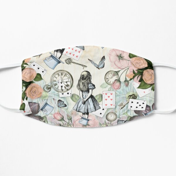 Alice In Wonderland  Collage Mask