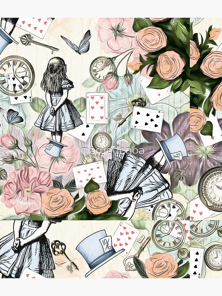 Alice In Wonderland  Collage by maryedenoa