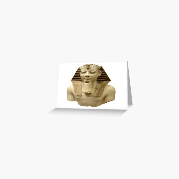 Egyptian Pharaohs Tshirt Greeting Card