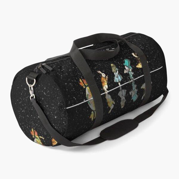 Wonderland Starry Night - Alice In Wonderland Duffle Bag