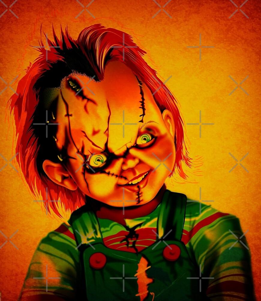 Chucky by kiwiartyfarty