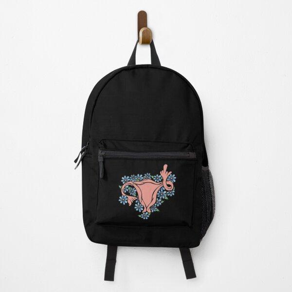 Middle Finger Uterus Pro-choice Feminist Backpack