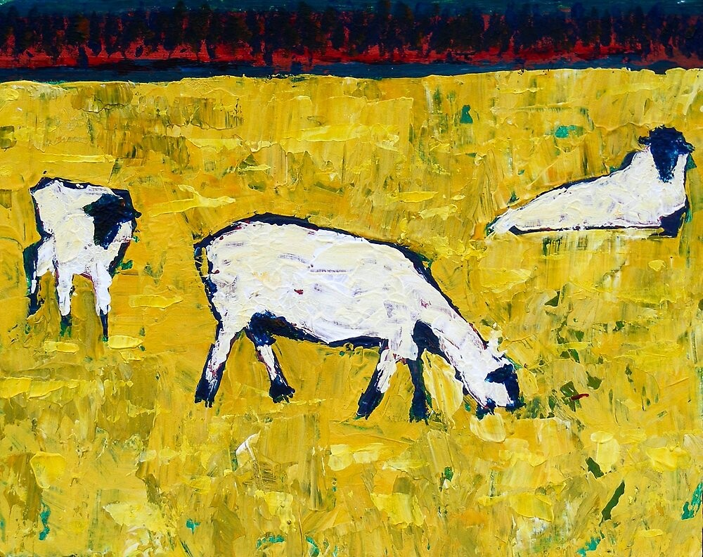 White Sheep by eolai