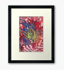 Abstract - Paint - The meaning of life Framed Print
