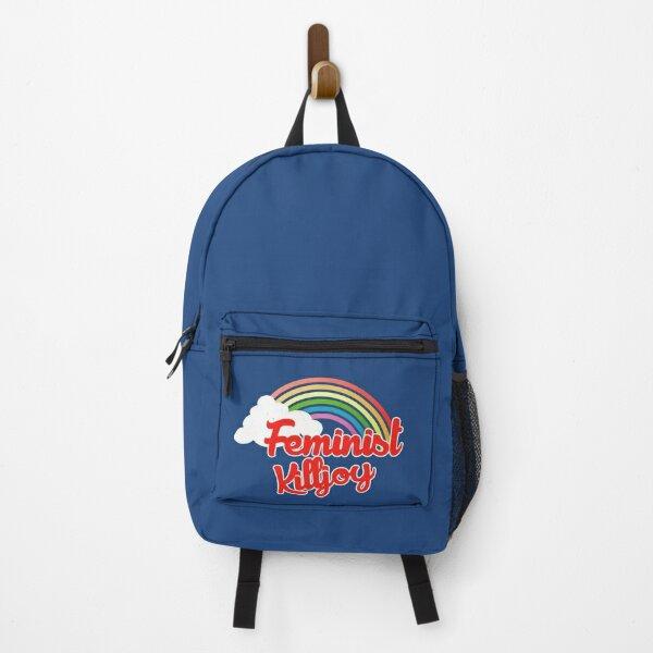 Feminist killjoy retro rainbow Backpack