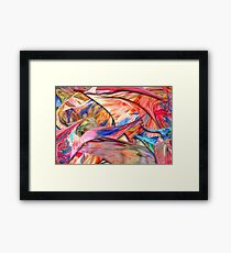 Abstract - Paper - Origami Framed Print
