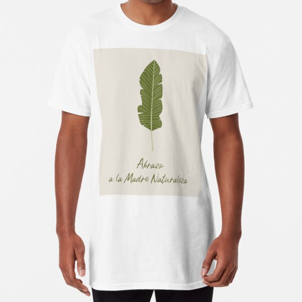 Abrazo a la Madre Naturaleza Embrace Mother Nature Camiseta larga