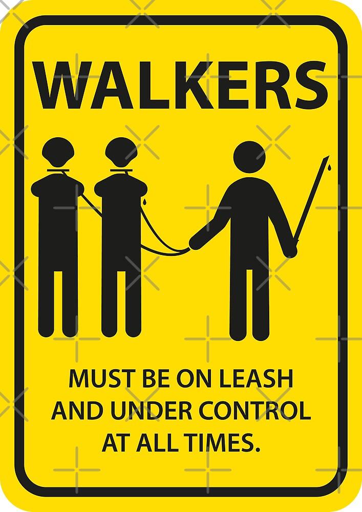 Walker Sign by nielsrevers