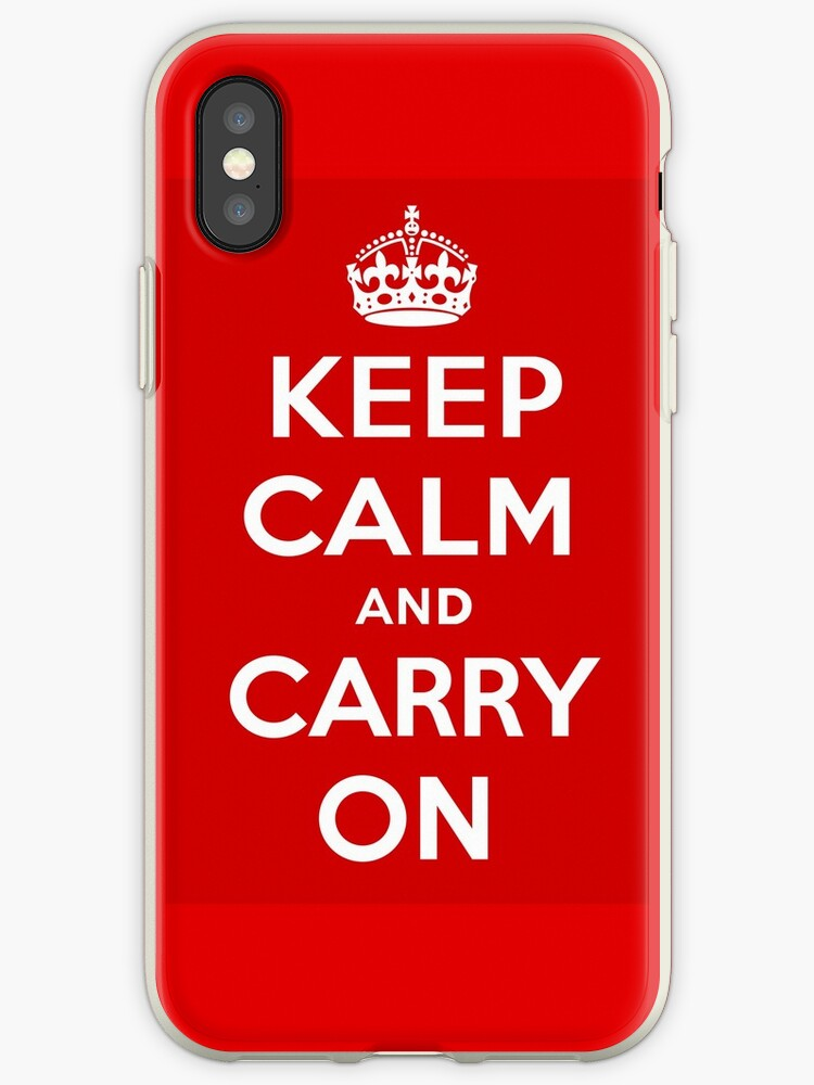 Keep Calm and Carry On by emilysmithart