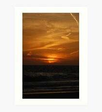 Floridian Sunset Art Print