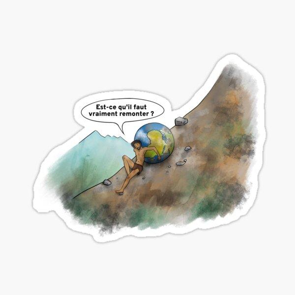Sisyphus - FR Sticker
