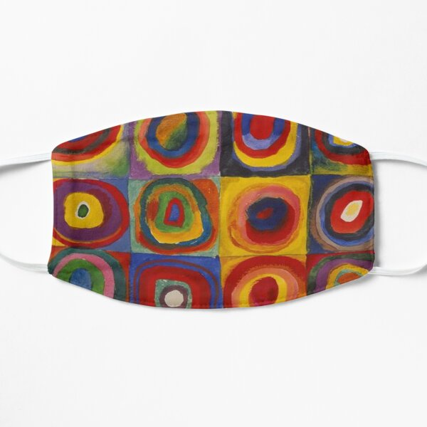 Wassily Kandinsky, Colour Study, Squares with Concentric Circles. Mask