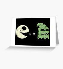 Pac-Jack Greeting Card
