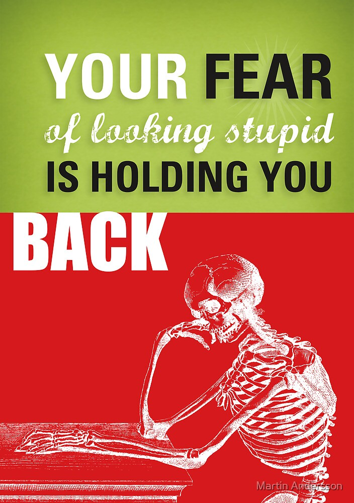 FEAR of STUPIDITY by Martin Andersson