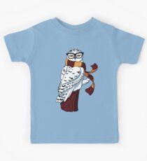 Hipster Owl Kids Tee
