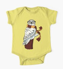 Hipster Owl One Piece - Short Sleeve
