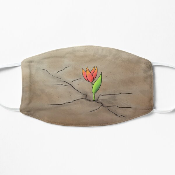 Resilience Flower Flat Mask