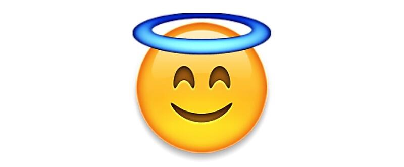 how to draw a angel emoji
