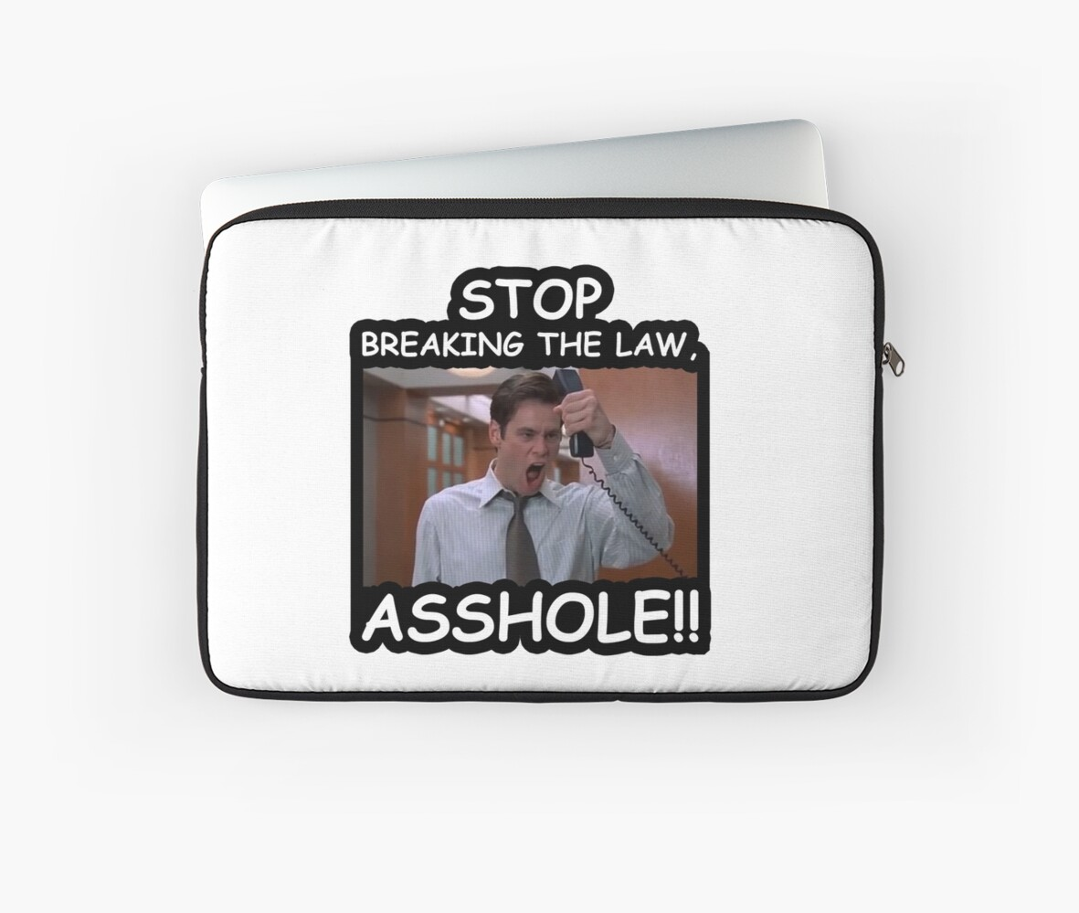 Stop breaking the law asshole share your