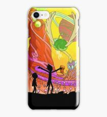 Welcome to the rick and morty world!!! iPhone Case/Skin