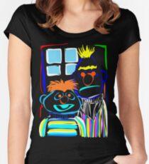 Bert & Ernie Women's Fitted Scoop T-Shirt
