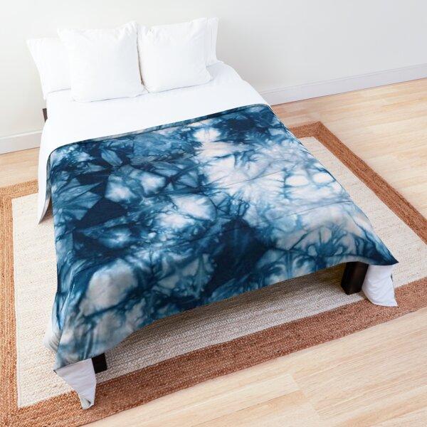 Blue Tie Dye Comforter