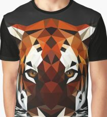 Geometric Tiger Graphic T-Shirt