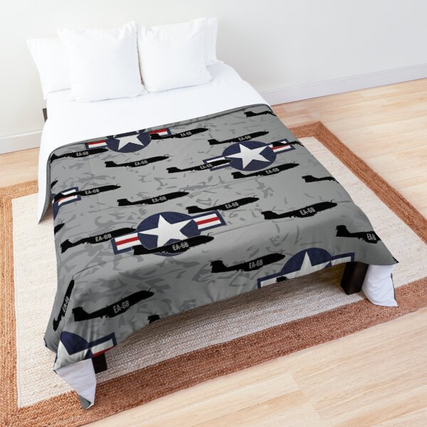 EA-6B Prowler Military Airplane Comforter