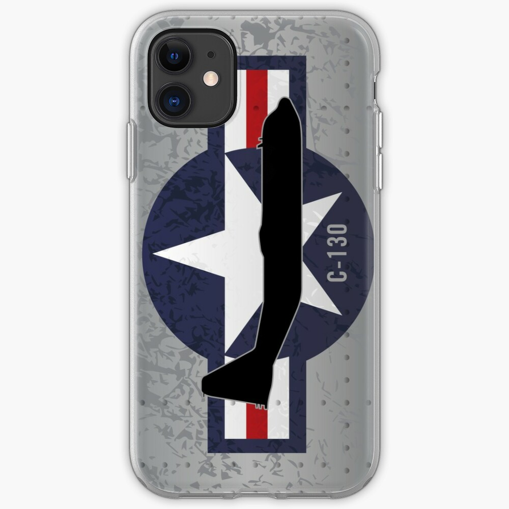 C-130 Hercules Military Airplane iPhone Case & Cover